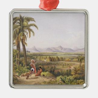 Pirara and Lake Amucu, the Site of El Dorado, from Metal Ornament