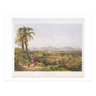 Pirara and Lake Amucu, the Site of El Dorado, from Postcard