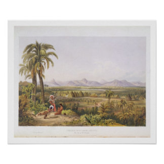 Pirara and Lake Amucu, the Site of El Dorado, from Poster