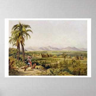 Pirara y lago Amucu, el sitio de Eldorado, impresi Posters