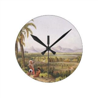 Pirara y lago Amucu, el sitio del EL Dorado, de Relojes De Pared