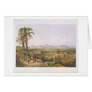 Pirara y lago Amucu, el sitio del EL Dorado, de Tarjetón