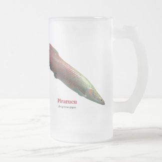 Pirarucu 16 Oz Frosted Glass Beer Mug
