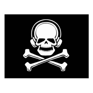 Pirata 1 de la música postales