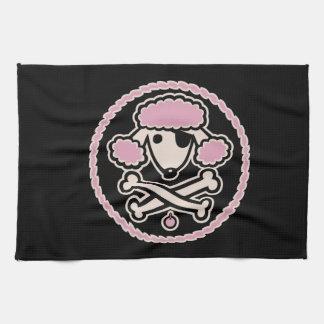 Pirata 1cl del caniche toallas de mano