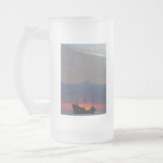 Pirata 4 taza de cristal