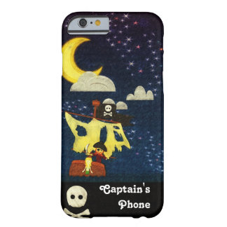 Pirata adaptable en el caso de la noche funda para iPhone 6 barely there