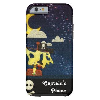 Pirata adaptable en el caso de la noche funda para iPhone 6 tough