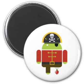 Pirata androide - Andy Iman Para Frigorífico