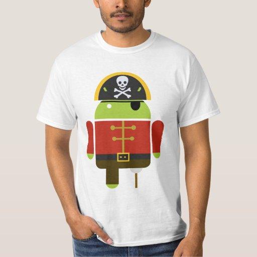 Pirata androide playera