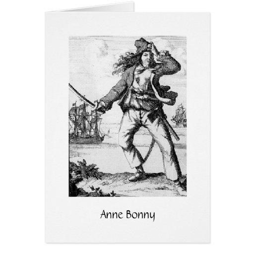 Pirata Anne Bonny Tarjeta De Felicitación