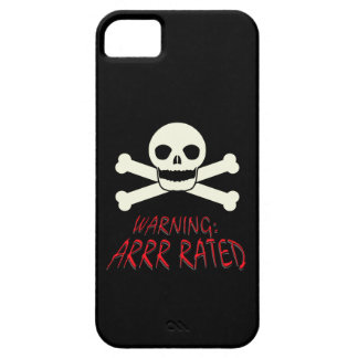 Pirata Arrr clasificado iPhone 5 Case-Mate Fundas