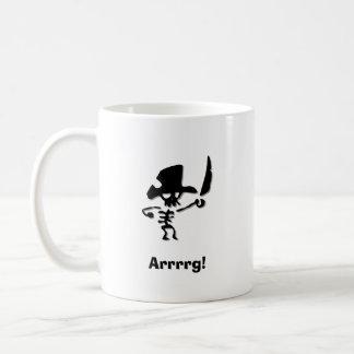 Pirata Arrrrg Taza De Café
