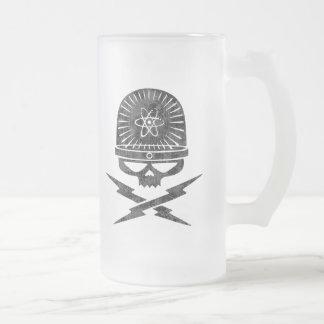 Pirata atómico tazas de café