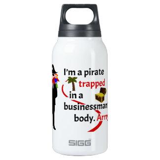 Pirata atrapado en el cuerpo de un hombre de