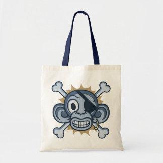 Pirata azul del mono bolsas