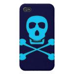 Pirata azul iPhone 4 protector
