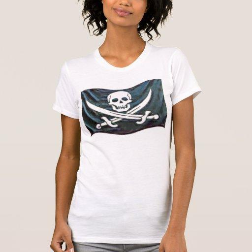 Pirata-Bandera Camiseta