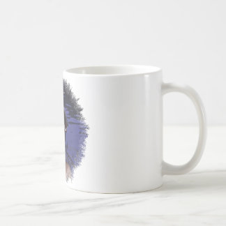 Pirata bonito taza básica blanca