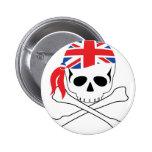 Pirata británico pin