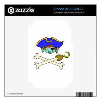 pirata calcomanía para iPhone 3GS
