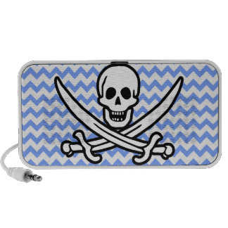 Pirata Chevron azul Rogelio alegre Mp3 Altavoz