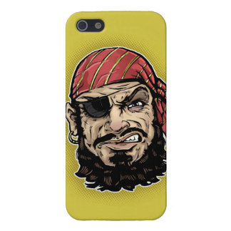 Pirata clásico iPhone 5 funda