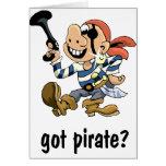 Pirata conseguido tarjeta