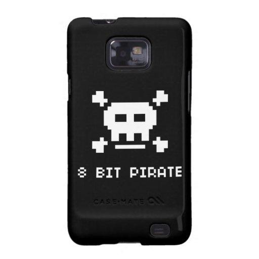 Pirata de 8 pedazos samsung galaxy SII carcasa