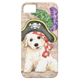 Pirata de Bichon Frise Funda Para iPhone SE/5/5s