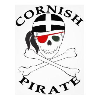Pirata de Cornualles 1 Membrete Personalizado