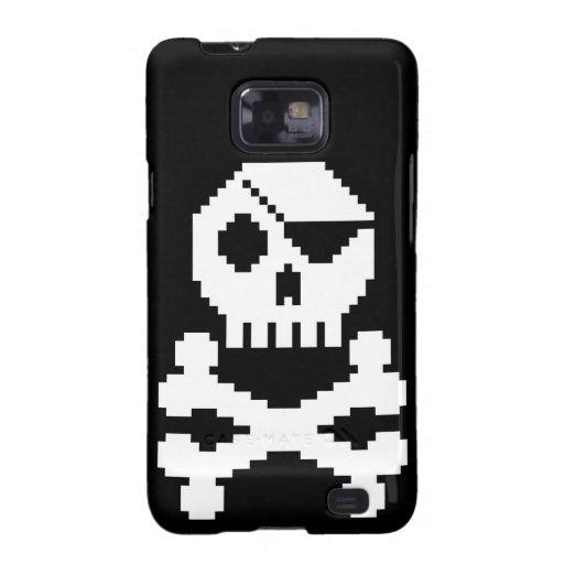 Pirata de Digitaces Galaxy S2 Funda