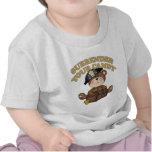 Pirata de Halloween de los niños Camiseta