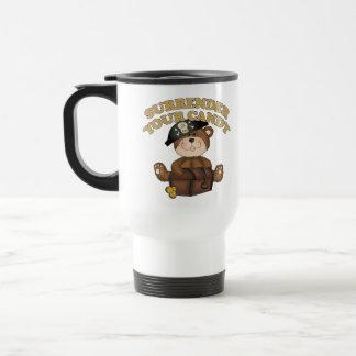Pirata de Halloween de los niños Taza De Café