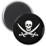 Pirata de Jack Rackham Iman De Nevera