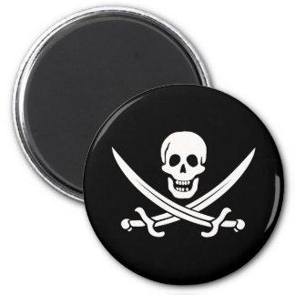 Pirata de Jack Rackham Imán Redondo 5 Cm