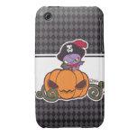 Pirata de la calabaza iPhone 3 Case-Mate protectores