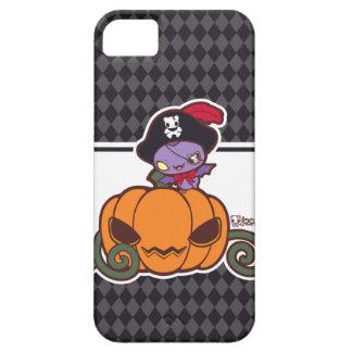 Pirata de la calabaza iPhone 5 protectores