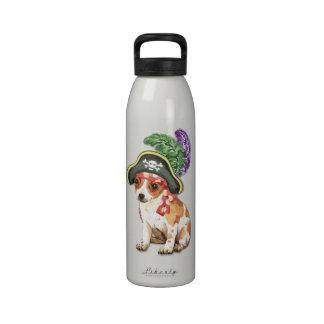 Pirata de la chihuahua botellas de beber
