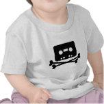 Pirata de la cinta de la mezcla camiseta