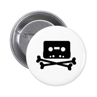 Pirata de la cinta de la mezcla pin redondo 5 cm