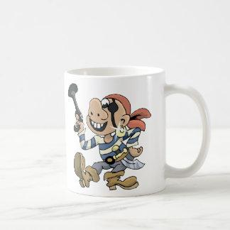 Pirata de la comedia taza de café