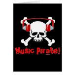 Pirata de la música felicitaciones