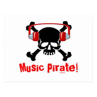 Pirata de la música postal