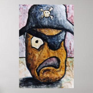 pirata de la patata póster