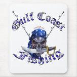 Pirata de la pesca de GulfCoast Tapete De Raton