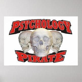 Pirata de la psicología póster