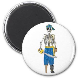 Pirata de los Undead Imanes De Nevera