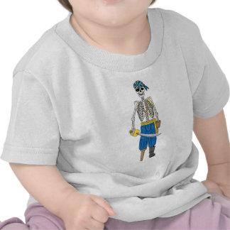 Pirata de los Undead Camisetas