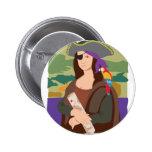 Pirata de Mona Lisa Pin